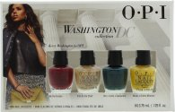 OPI Washington DC Smalto Per Unghie Set Regalo 4 Pezzi