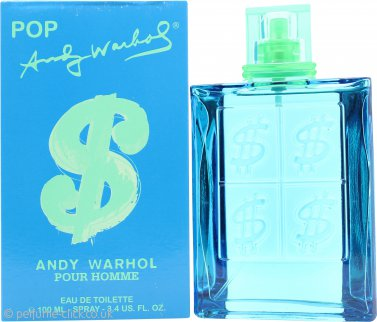 Andy Warhol Pop Pour Homme Eau de Toilette 100ml Spray