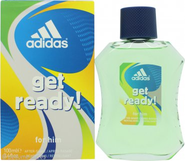 Adidas Get Ready! For Him Aftershave 100ml Splash