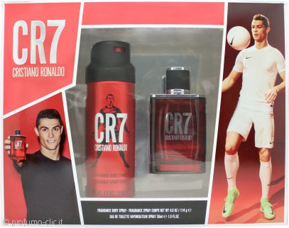 Cristiano Ronaldo CR7 Set Regalo 30ml EDT + 114ml Spray Corpo