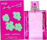 Andy Warhol Pop Pour Femme Eau de Toilette 100ml Spray