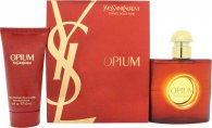 Yves Saint Laurent Opium Gift Set 50ml EDT + 50ml Body Lotion