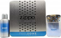 Zippo Feelzone For Him Gift Set 75ml EDT +  150ml Deodorant Spray