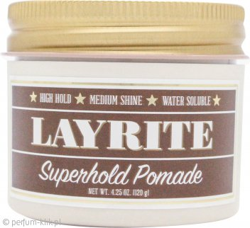 Layrite Superhold Pomade 120g