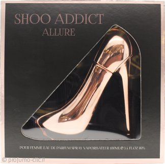 Laurelle Shoo Addict Allure Eau de Parfum 100ml Spray