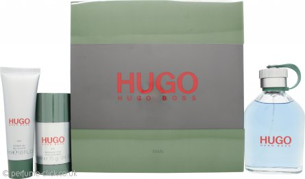 Hugo Boss Hugo Gift Set 125ml EDT + 50ml Shower Gel + 75ml Deodorant Stick