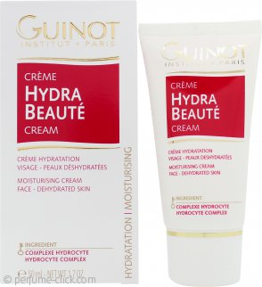 Guinot Creme Hydra Beaute Long Lasting Moisturizing Cream 1.7oz (50ml) Dehydrated Skin