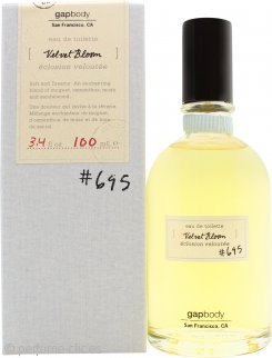 GAP Velvet Bloom No.695 Eau de Toilette 100ml Spray