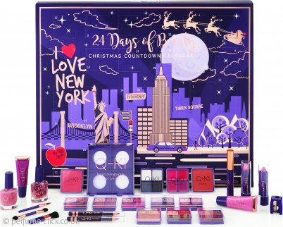 Q-KI 24 Days of Beauty I Love New York Advent Calendar 26 Pieces