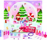 Tilly & Friends Snow Globe Calendario Dell'Avvento 22 Pezzi