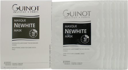 Guinot Newhite Masque Revelateur Lumiere Instant Brightening Mask Gift Set 7 x 40ml