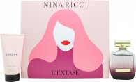 Nina Ricci L'Extase Gift Set 50ml EDP + 75ml Body Lotion