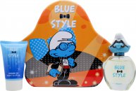The Smurfs Brainy Gift Set 50ml EDT + 75ml Shower Gel