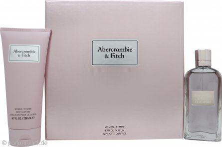 Abercrombie & Fitch First Instinct for Her Geschenkset 100ml EDP + 200ml Body Lotion