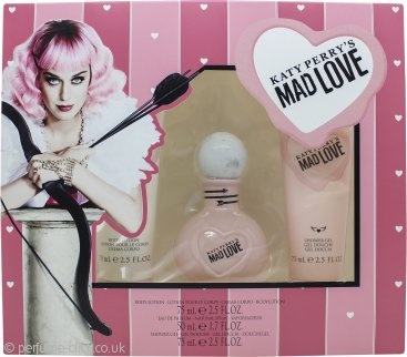 Katy Perry Mad Love Gift Set 50ml EDP + 75ml Body Lotion + 75ml Shower Gel