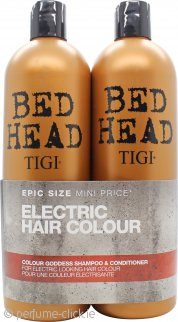 Tigi Bed Head Colour Goddess Twin Gift Set 750ml Shampoo + 750ml Conditioner