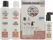 Wella Nioxin System 3 Gift Set 150ml Shampoo Cleanser + 150ml Scalp Revitaliser + 50ml Scalp Treatment