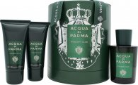 Acqua di Parma Colonia Club Gift Set 100ml EDC + 50ml Bath & Shower Gel + 50ml Face Emulsion