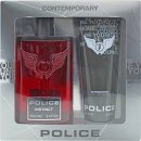 Police Instinct Set Regalo 100ml EDT + 100ml Be Younique Docciashampoo
