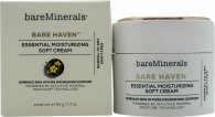 bareMinerals Bare Haven Essential Moisturizing Soft Cream 50ml - Für normale und trockene Haut