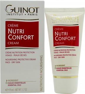 Guinot Creme Nutrition Confort Continuous Nourishing and Protection Gezicht Crème 50ml - Droge Huid