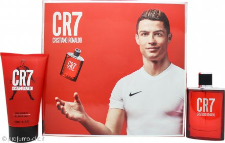 Cristiano Ronaldo CR7 G Set Regalo 50ml EDT + 150ml Gel Doccia