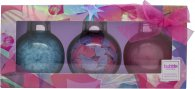 Style & Grace Bubble Boutique Bath Baubles Gift Set 100ml Bubble Bath + 30g Bath Confetti + 120g Bath Crystals