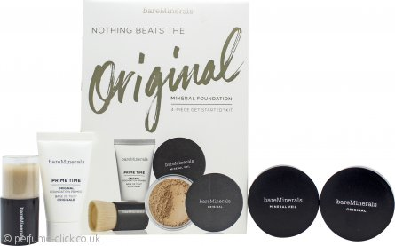 bareMinerals Nothing Beats The Original Starter Kit Gift Set 4 Pieces - Medium Beige