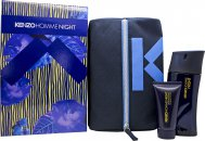 Kenzo Homme Night Gift Set 100ml EDT + 50ml Shower Gel + Pouch