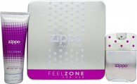 Zippo Feelzone For Her Gift Set 75ml EDT + 200ml Body Lotion