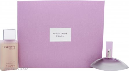 Calvin Klein Euphoria Blossom Gift Set 50ml EDT + 100ml Body Wash