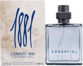 Cerruti 1881 Essentiel Eau de Toilette 3.4oz (100ml) Spray