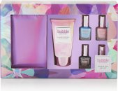 Style & Grace Bubble Boutique Nail Polishes & Purse Gift Set 6 Pieces