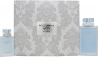 Dolce & Gabbana Light Blue Eau Intense Gift Set 100ml EDP + 25ml EDP