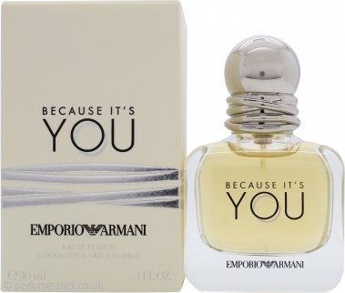 Giorgio Armani Because Its You Eau De Parfum 30ml Spray