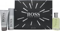 Hugo Boss Boss Bottled Gift Set 3.4oz (100ml) EDT + 3.4oz (100ml) Shower Gel + 5.1oz (150ml) Deodorant Spray