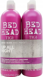 Tigi Bed Head Fully Loaded Twin Pack Set Regalo 750ml Shampoo + 750ml Balsamo