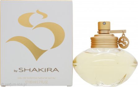 Shakira S By Shakira Eau de Toilette 80ml Spray