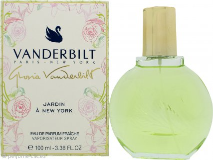 Gloria Vanderbilt Jardin à New York Eau de Parfum Fraiche 100ml Spray