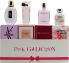 Lancôme Yves Saint Laurent & Cacharel Pink Collection Miniature Set Regalo 4 Pezzi