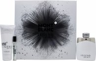 Mont Blanc Legend Spirit Gift Set 100ml EDT + 100ml After Shave Balm + 7.5ml EDT