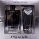 Police Independent Gift Set 100ml EDT + 100ml Be Younique Shower & Shampoo