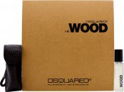 DSquared2 He Wood Gift Set 0.2oz (7ml) Roll-On Perfume Oil + Travel Case