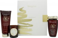 Kérastase Aura Botanica Gift Set 250ml Shampoo + 200ml Conditioner + 100g Scented Candle
