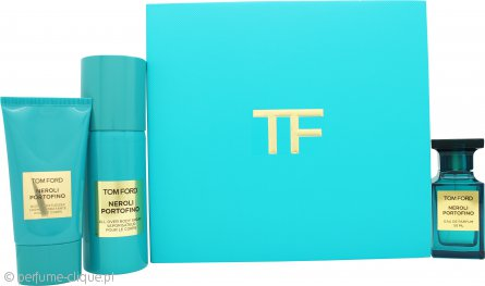 Tom Ford Private Blend Neroli Portofino Gift Set 50ml EDP + 75ml Body Lotion + 150ml Body Spray