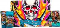 Ed Hardy Hearts & Daggers Men Set Regalo 100ml EDT + 7.5ml EDT + 78g Deo Stick + 90ml Gel Doccia