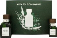 Adolfo Dominguez Agua Fresca Vetiver Gift Set 120ml EDT + 30ml EDT