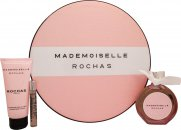 Rochas Mademoiselle Rochas Gift Set  90ml EDP + 100ml Body Lotion + 7.5ml EDP
