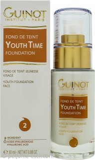 Guinot Youth Time Fond De Teint Soin Youth Time Foundation 1.0oz (30ml) - No2