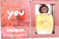 Desigual You Eau de Toilette 50ml Spray